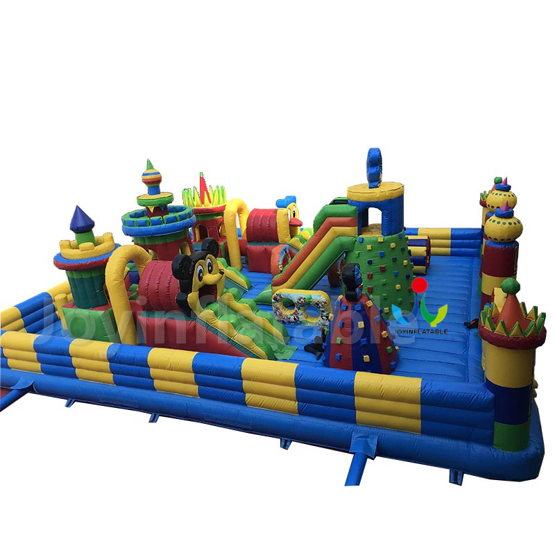 15X10M Inflatable Kids Bouncing Castle For Playgrounds,Inflatable Wall Climb For Sale