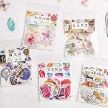 XINAHER 40 teile/los Vintage Collage zeitung papier aufkleber paket DIY tagebuch dekoration aufkleber album scrapbooking