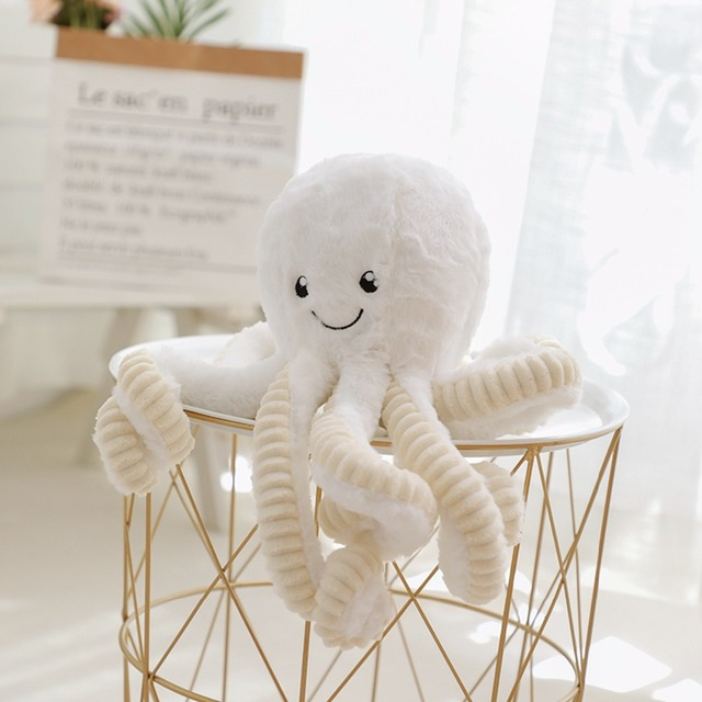 Kid's Cartoon Style Octopus Plush Toy 6