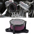2016 New Style Rough Crafts CNC Aluminum Air Cleaner Intake Filter Universal For Harley Davidson Sportster XL 883 1200 2004-2016