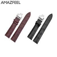 Band For Amazfit 2 Strap Xiaomi Huami Amazfit Stratos Pace 2 Watchband Genuine Leather Strap Amazfit