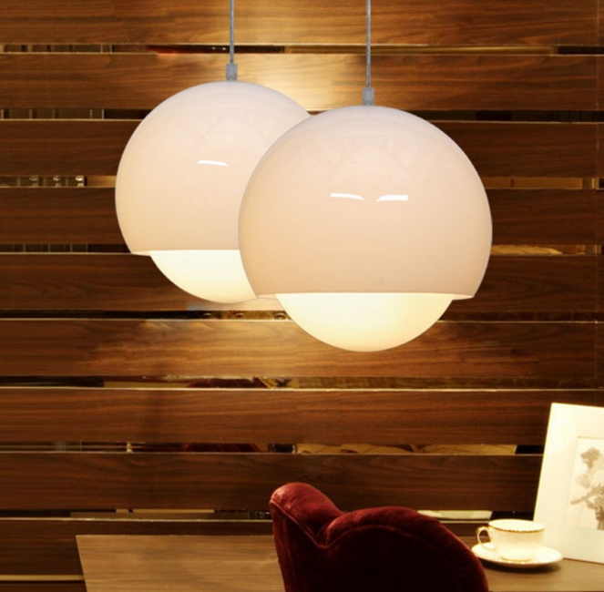 Chandelier simple modern personality creative living room lights acrylic glass ball bar table restaurant lamps european restaurant crystal chandelier simple ball bedroom modern simple led creative living room lighting dining room