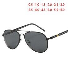 Feminino masculino miopia óculos de sol com grau clássico condução óculos de visão curta diopter sph 0.5  1.0  1.5  2.0  2.5 t0 6.0