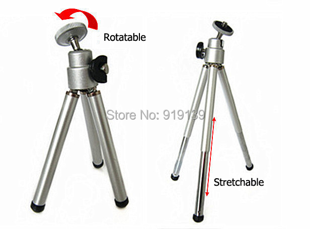 Quality Cheap Price Mini Tripod Stand Adjustable For Camera Phone Video Projector Floor Stand Foot Lightweight