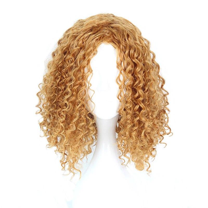 Mcoser 30 CM սինթետիկ կարճ գանգուր Cosplay Party - Սինթետիկ մազերը