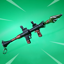 Game Arms Shark Cannon Pendant Accessories Alloy Key Rings Holder