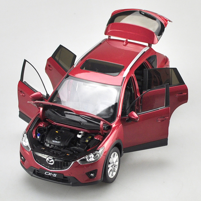 Us 69 14 Brand New 1 18 Scale Car Model Toys Mazda Cx 5 Suv Diecast Metal Car Toy For Gift Collection Decoration Kids Christmas On Aliexpress Com