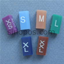 Rectangle-Shaped-Hanger Divider-Accessories Size-Markers Printing Plastic with Assorted