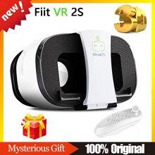 100% original fiit vr 2 s gafas de realidad virtual 3d google caja de cartón vr vr bobo + controller gamepad bluetooth