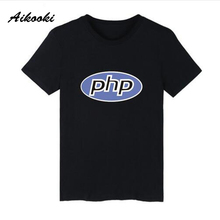 2018 Aikooki PHP JAVA Program T-shirt Men/women Short Sleeve High Quality Harajuku Men's T Shirt Computer Program Casual Top