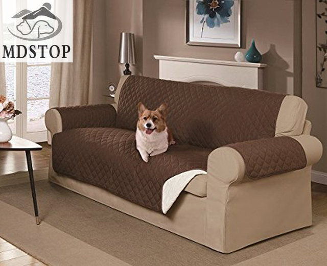 Mdstop dog double seat sofa cover protector for dog kids for Two dogs furniture covers