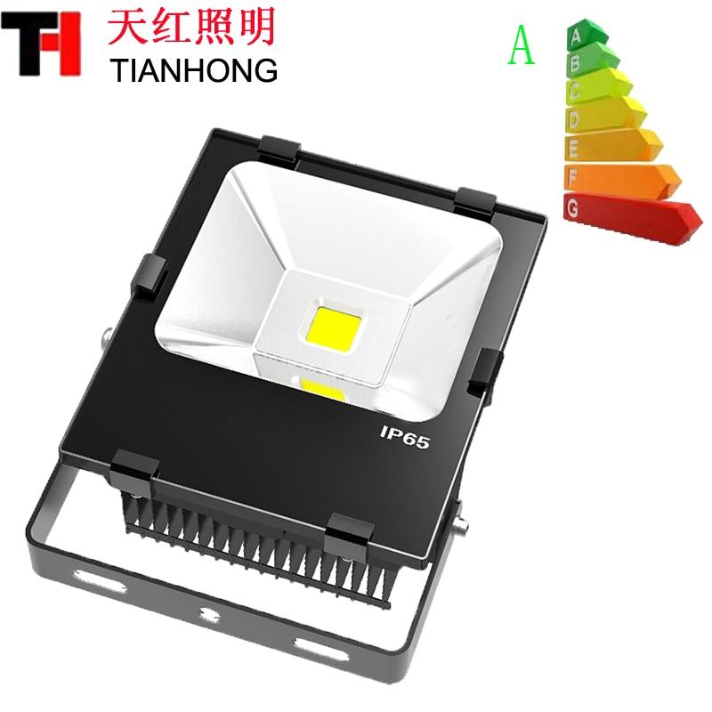 De type Fin de radiateur 50 W LED projecteurs avec SMD 3030 led