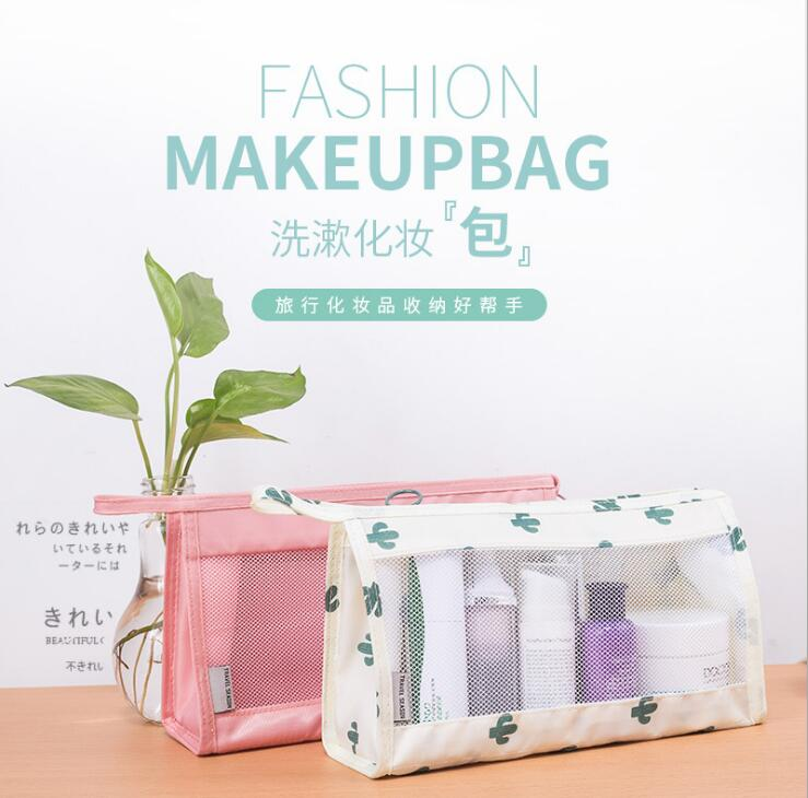 2018 The Minimalism Portable makeup bag for business travel and Travel and reception Convenient Daily in Storage Bags from Home Garden