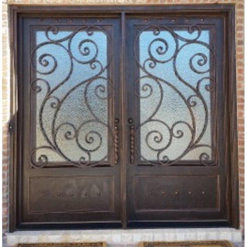Передние дверные замки дома металлическая передняя дверь входная дверь коврик