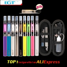 ECT eGo CE4  e Cigarette Zipper Case eGo Kit 650mah 900mah 1100mah 1300mAh ego t Battery CE4 Atomizer 1.6ml Electronic Cigarette