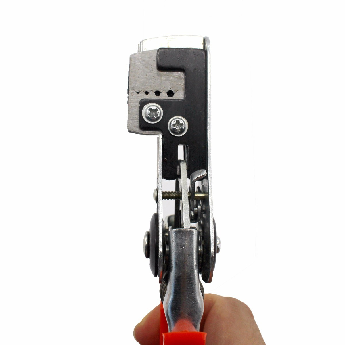 Купить с кэшбэком Automatic Stripping Pliers Wire Stripper Cutter Crimping Peeler Forceps Cable Tools Terminal Multifunctional Hand Tool