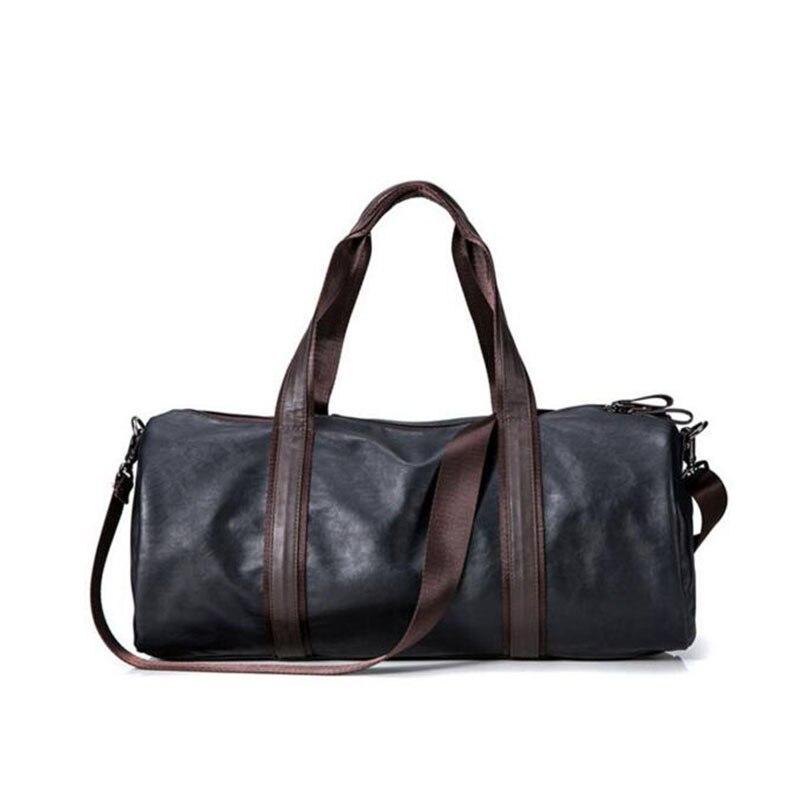 do vintage dos homens duffel Colors : Black Brown Blue