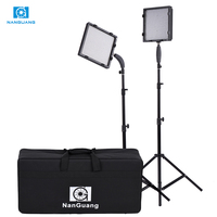 CN 576 Photography Video Camera Light Kit with 576pcs LED Beads 5600K/3200K LED Light + Adapter+Light Stand+Filters+Storage Bag