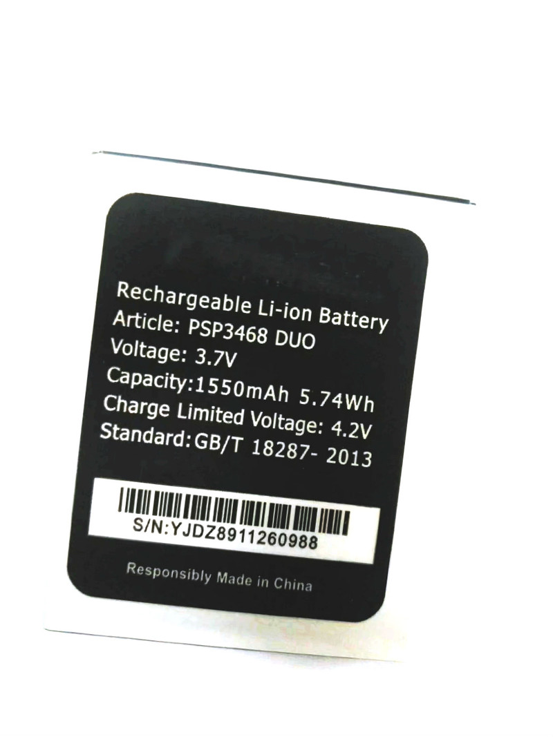 Dedicated Westrock 1550mah Psp3468 Duo Battery For Prestigio Wise Ok3 Wize N3 Psp3468duo Psp 3468 Cell Phone Computer & Office