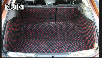 High quality! Special trunk mats for Citroen DS6 2018-2014 wear-resisting cargo liner boot carpets for DS6 2016,Free shipping