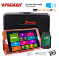 2017 mais novo vpecker easydiag v8.7 obd2 bluetooth/wi-fi 10 tablet carro de diagnóstico do scanner automotivo + 8 ''windows-ferramenta easydiag
