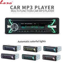 LaBo Nieuwe 12 V Auto audio stereo Autoradio Bluetooth V3.0 In-dash 1 Din FM Aux Ingang Ontvanger SD USB MP3 MMC WMA Autoradio Playe(China)