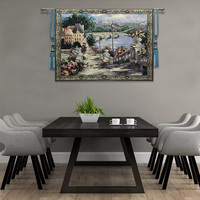 Vintage Pastoral Style Tapestry Wall Hanging Blanket Home Decoration for Living Room Wall Decor