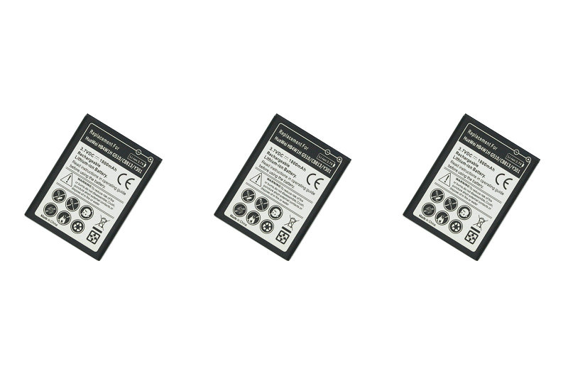 3pcs/lot 1800mAh HB4W1H / HB4W1 Replacement Battery For