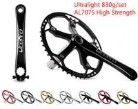 Litepro elite one piece BMX folding bike crankset bicycle crankset for BYA 412 130mm 41t 45t 47t|folding bike crankset|bicycle cranksetbike crankset -