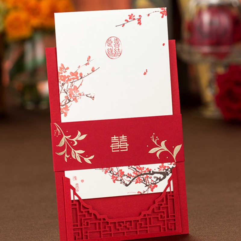 Love Bird Red Plum Blossom Chinese