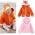 Babies Spring/Autumn Cartoon Hoodies Newborn Baby Boys Girls Ear Hooded Tops Super Cute Jacket Coat Outerwear 0-24M Clothing