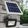 Solar LLEVÓ Luces de Jardín Solares lamparas 5 W Blanco 12 Led con Sensor de Luz Focos Focos DALLAST