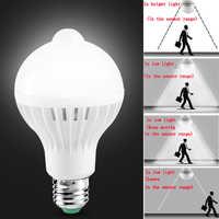 E27 Led Bulb with Motion Sensor Light 220V 110V PIR Bulbs Smart Lamp Child Night Light Ampoule Bombillas 5W 7W 9W Home Lighting