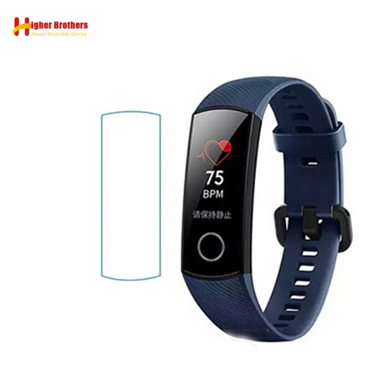 Screen-Protector-Film Bracelet Honor-Band Huawei for Glass Anti-Drop Full-Cover Explosion-Proof