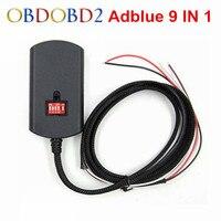 5 unids/lote Adblue Adblue 9 en 1 Actualización 8 en 1 No necesita 9in1 Software Camiones AdBlue Emulador Box para Multi-marcas Envío Gratis