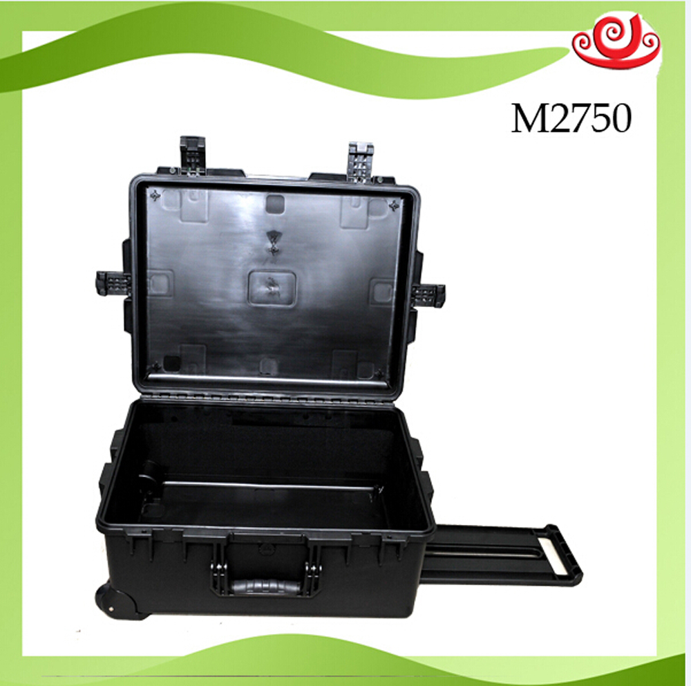 High quality waterproof toolbox tool case trolley case protective box camera case equipment protection box with wheels and foam high quality shipping case with full foam inside