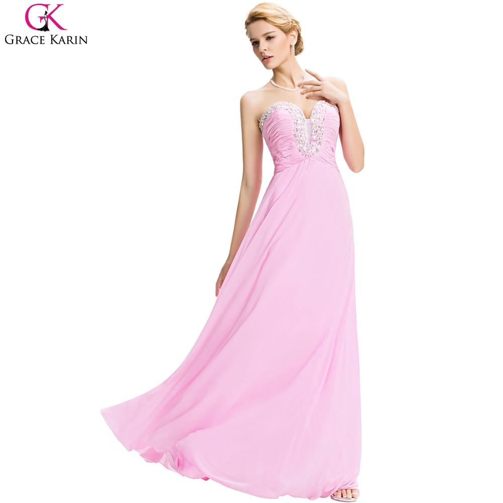 Fantástico Vestidos De Fiesta En Polvo De Color Rosa Modelo ...