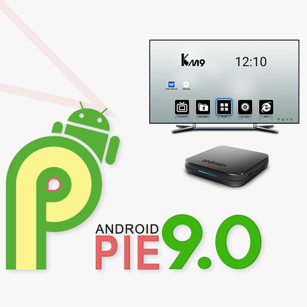 Image 4 - India IPTV Box KM9 Android 9.0 Smart Tv Box Free 1 month IPTV Subscription India Pakistan Turkey UK Germany Arabic France IP TV-in Set-top Boxes from Consumer Electronics