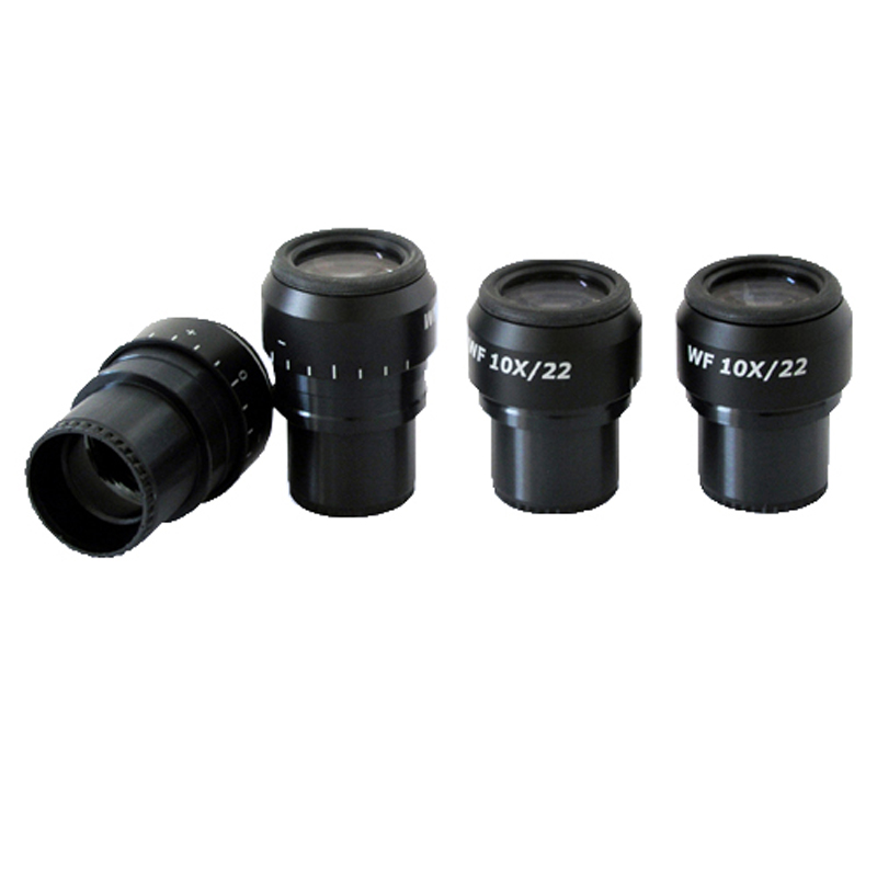 WF10X/22  10X Eyepiece Microscope Eyepiece (Pair) txs 30 dissecting microscope 2x objective wf10x eyepiece monocular stereo microscope 20x up right image