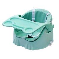 תינוק מושבים בוסטרים כיסא אוכל אכילת PP פלסטיק מתקפל בוסטרים כיסא תינוק בטיחות ילדי מושב גבהה נייד מושב האכלה
