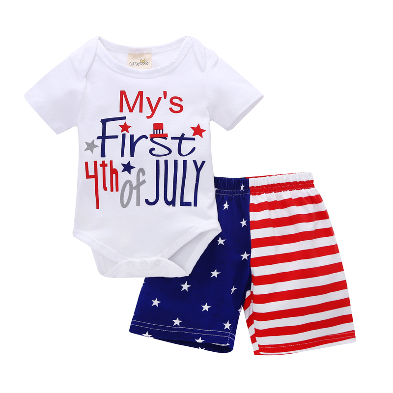 2018 Top Rushed Casual Newborn Baby Girl Clothes Roupa Infantil 2 Pieces Of Summer Short Sleeved Shorts For Young Children And