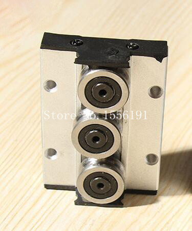 SGR25-3 Three roller skating block, Linear slide block bearings,Sliding Bearings CNC parts ,Without linear roller guide