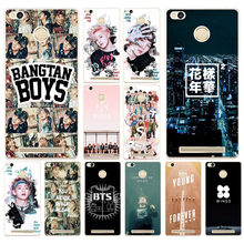 20DF Bangtan Boys you never walk alone BTS Hard Cover Case for Xiaomi Redmi 3S 3Pro 4a 5 plus Note 4 4x 5a 4pro Mi5 mi a1(China)