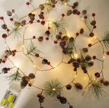 Украшения ночные огни 3 м 20led праздничные украшения для дома комнаты огни струнный свет