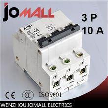 C45n переменного тока 3 полюсный 10a c типа мини автоматический
