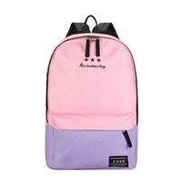 Fashion Backpack Women Children Schoolbag Back Pack Leisure Korean Ladies Knapsack Laptop Travel Blue/Gray/Orange/Purple Bags