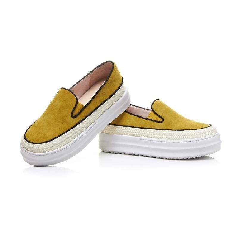Solide Slip Zapatos Mocassins Grimpantes Rond Femme Bout Plantes Feminino Mujer Appartements Plat Nouveau sur Des Printemps Chaussures Sapato forme Plate Dames rrZfdqncB