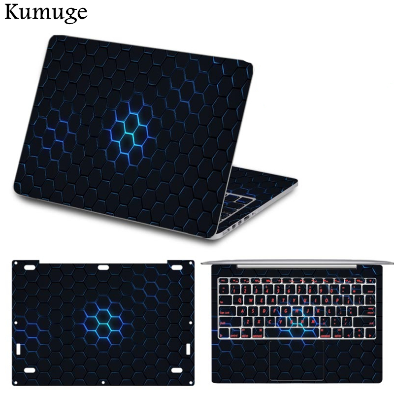 Full Set Laptop Sticker for Xiaomi Mi Air 12 13 Pro 15.6 inch Vinyl Decal Laptop Skin Protective Cover for Xiaomi Notebook SKin graf design protective decal skin sticker for nintendo 3ds xl 2014