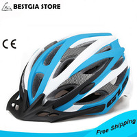 285g Brand Bicycle Helmet Integrally Molded Cycling Helmet Outdoor Sports Road Mountain MTB Bike Helmet 56