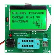 Best продвижение GM328A Транзистор тестер Графический волны сигнала rlcesr метр индуктивность
